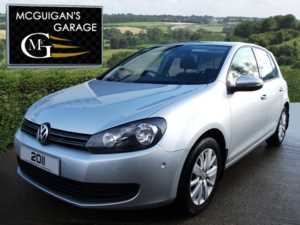 2011 (11) Volkswagen Golf 1.6 TDi 105 BlueMotion Tech , Match 5dr For Sale In Swatragh, County Derry