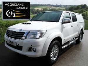 2015 (64) Toyota Hilux INVINCIBLE , 3.0 D-4D 171 , 4X4 , SAT NAV , CANOPY , PARK SENSORS For Sale In Swatragh, County Derry