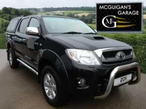 2011 (61) Toyota Hilux 3.0 D-4D 171 , INVINCIBLE , CANOPY , CHROME `A` Bar For Sale In Swatragh, County Derry