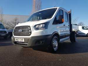 2017 (67) Ford Transit TIPPER 350 L3 D/CAB 130PS For Sale In Crawley, West Sussex