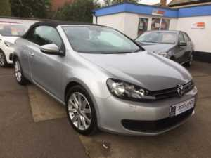 2012 (12) Volkswagen GOLF CONVERTABLE 1.6 TDI BlueMotion Tech S For Sale In Whittlesey, Peterborough