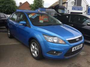 2010 (10) Ford Focus 1.6 TDCi Zetec [110] [DPF] For Sale In Whittlesey, Peterborough