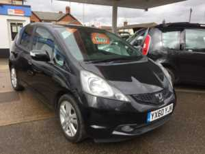2010 (60) Honda JAZZ AUTO 1.4 i-VTEC EX i-SHIFT Automatic For Sale In Whittlesey, Peterborough