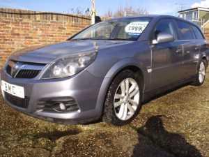 2005 (55) Vauxhall Vectra RARE VECTRA 1.9 SRI CDTI 150BHP 6-SPEED ESTATE For Sale In Datchet, Berkshire
