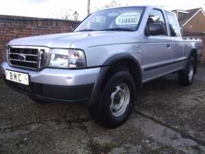 2005 (54) Ford RANGER SUPERCAB 2.5TD di XL , 4-SEATER, 4WD PICK-UP, NO VAT For Sale In Datchet, Berkshire