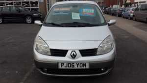 2006 (06) Renault Megane Scenic 1.6 VVT Dynamique From £2,495 + Retail Package For Sale In Near Blackpool, Lancashire