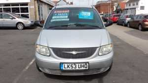 2004 (53) Chrysler Voyager Diesel Anniversary 7Seater From £3,995 + Retail Package For Sale In Near Blackpool, Lancashire