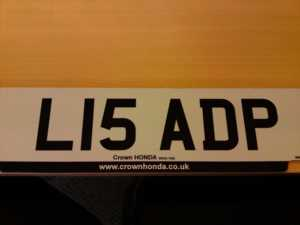 L15a Dp PLATE NUMBER PLATE FOR SALE For Sale In Watford, Hertfordshire